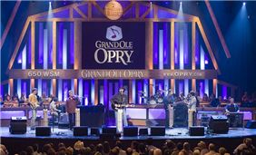 The world-famous Grand Ole Opry