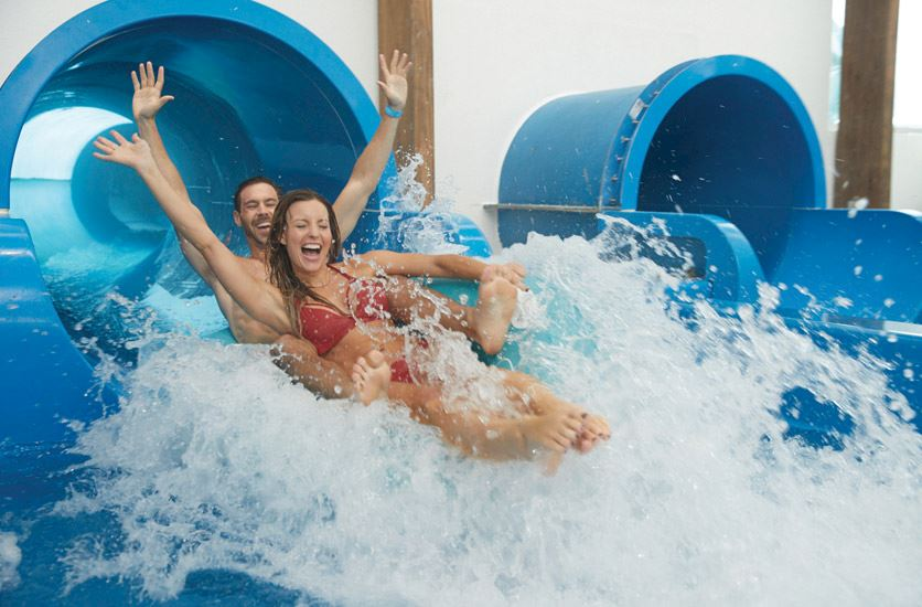 SoundWaves indoor water attraction at Gaylord Opryland, Nashville